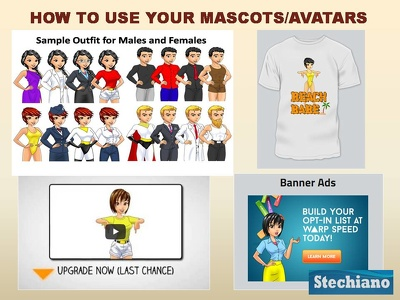 I will professionally design/build a full bodied male/female 2D Avatar illustration.