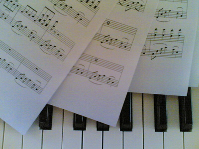 Copy / edit sheet music for publishing (from handwritten manuscript or scanned PDFs)