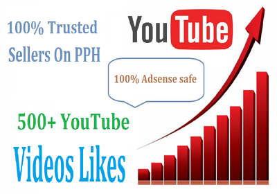 Add 500+ High Retention Safe YouTube Likes Non-Drop Guarantee