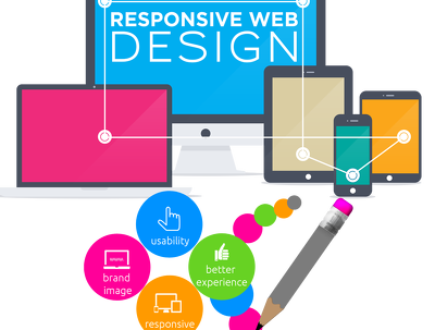 Develop or edit your website into a fully responsive design