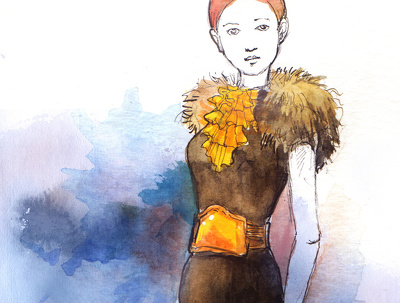 Create fashion illustration