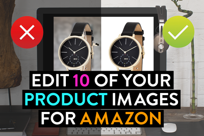 edit 10 of your product images for Amazon