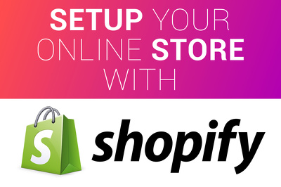 Setup shopify store with free template