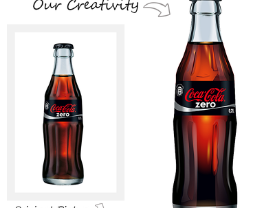 Create vector illustration of your product or logo