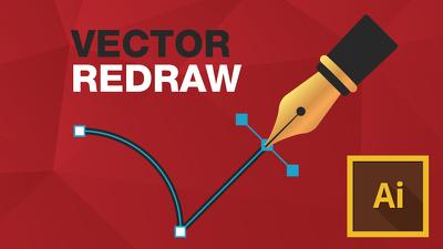 Redraw your logo/artwork as a hi res vector image