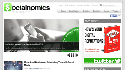 Publish Guest Post on Socialnomics.net -- Socialnomics Dofollow