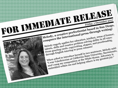 Write a press release compatible with distribution guidelines