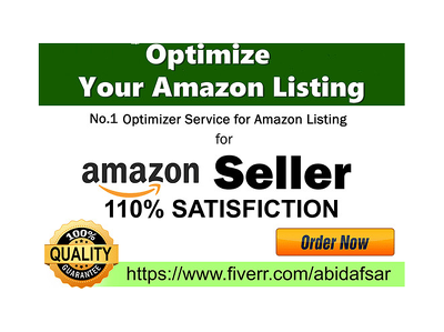 Do Amazon Listing Optimisation SEO for your FBA FBM  Private Label Niche Products