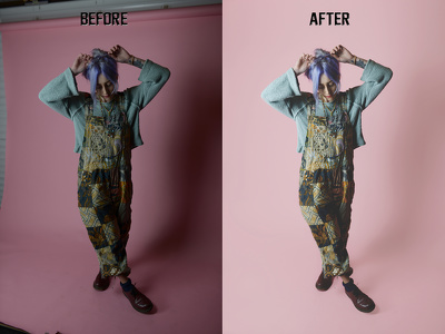 Professional editing retouching of 4 photos (fashion, clothing)