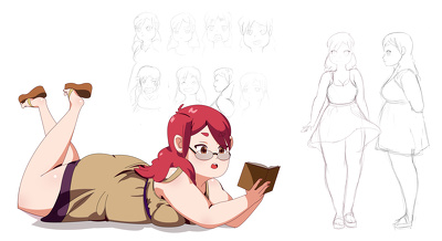 CREATE FULLY DETAILED CHARACTER DESIGNS
