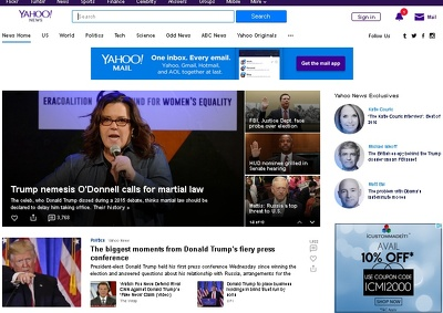 Write and Publish Guest Post on Yahoo News - Editorial Link DA 100 PA 93