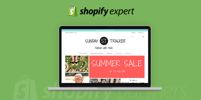 Setup shopify store and theme customisation