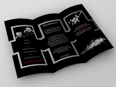 Tri Fold Brochure Design With UNLIMITED revisions + Source Files