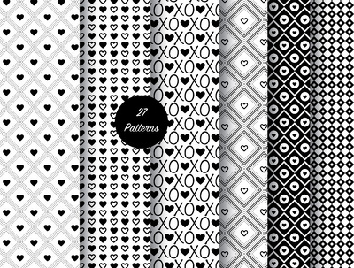 License any of the following packs of seamless vector patterns