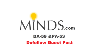 Write and publish a guest post on Minds.com ( DA59 PA53 Dofollow )