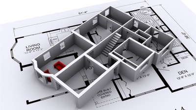 Design any drawing or ARCHITECTURAL floor plan using Autocad