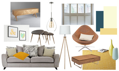 Produce a design scheme for any room