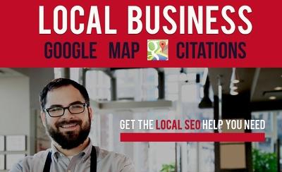 Do 5 Google Map Citations - Local SEO