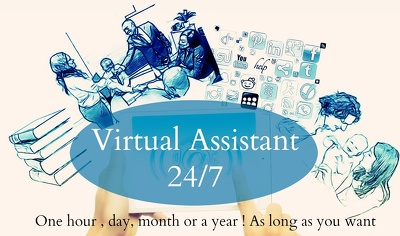 Be your virtual assistant for 2 hours