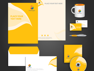 Business Stationary  (business card+letterhead+envelope+CD Cover etc.)