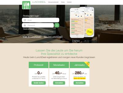 Develop a WordPress landing page