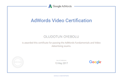 Set up a Google Adwords Youtube campaign to drive awareness