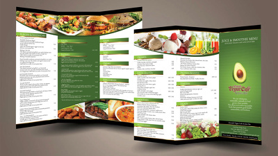 Design Custom Menu Cards For your Restaurant Business