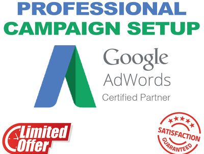 Create a Professional Adwords PPC Campaign (Special Offer)