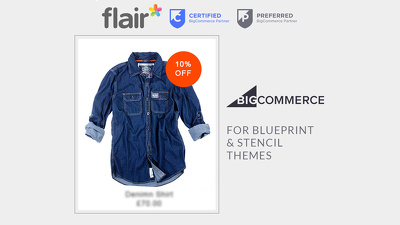 Add sale discount badges to your BigCommerce store