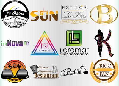 Design a Original Logo + Unlimited Concepts & Revisions + Source Files