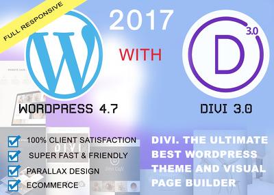 Design Professional Divi Website