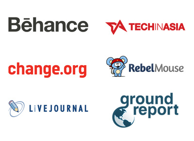 Guest post on behance, change.org, livejournal, techinasia, rebelmouse, groundreport