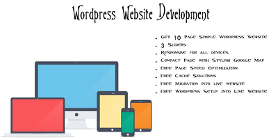 Create 10 Page Simple Wordpress Website/Blogging Website
