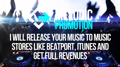 Release your Music to Music Stores Like Beatport, Itunes and get full revenues