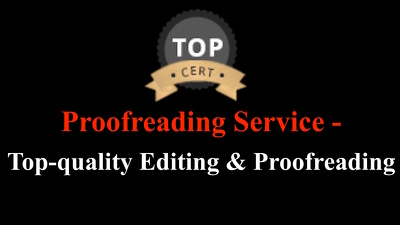 Best Proofreading Service: Professional Editing and Proofreading 1000 words