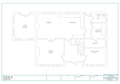 Convert your PDF building plans into CAD