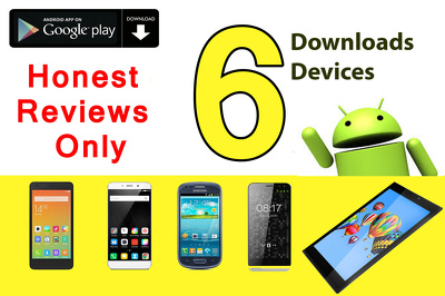 Install Rate and Review your Android app With Honesty Real User