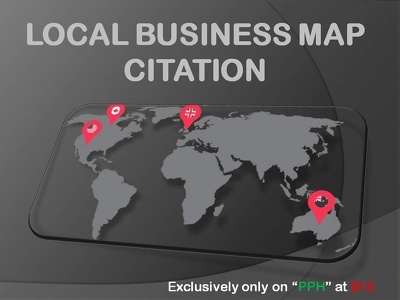 Do manually 50 google map citation for your local business