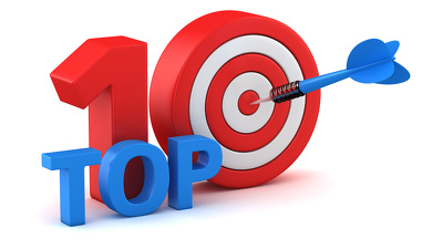 Compile a 500-word Top 10 list on any given subject