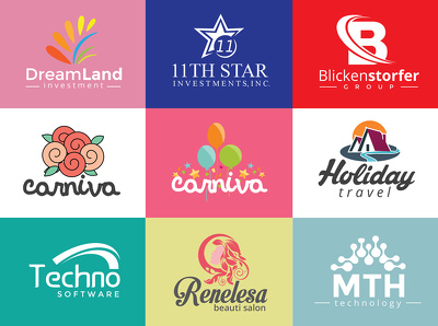 Logo Design + Unlimited Concepts & Revisions + Eye Catching Design + Source File
