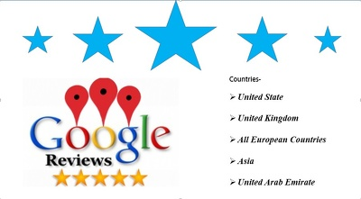 Six Google Five star Review with Difference IP