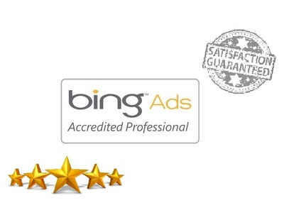 Complete bing ads certification on behalf you