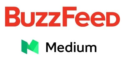 Write and publish a guest post on Medium.com (DA-82) OR Buzzfeed.com (DA-92)