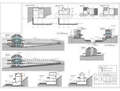 Draft a floorplan in Autocad
