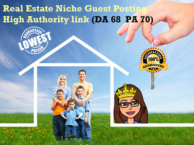 Write and Post your article on High Quality Real Estate Niche Site ( DA 68 | PA 70)
