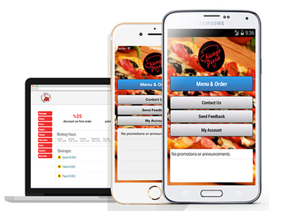 Create branded restaurant mobile app for restaurant cafe bar pub takeaway delivery