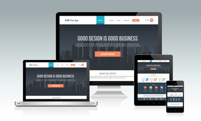 Make 5 page static site to responsive for globally existing devices