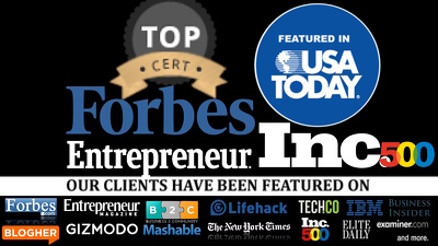 Guest post on Entrepreneur.com - DA90, TF72, PA70, PR 7 Forbes.com dofollow link