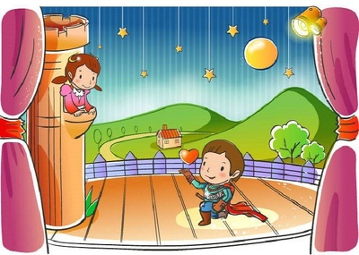 Draw children book illustration in my style
