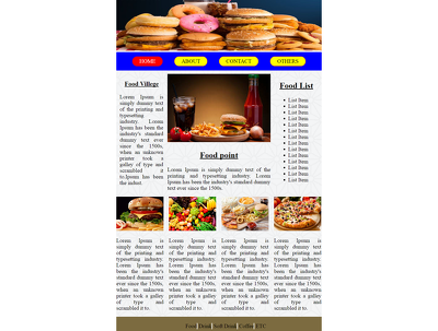 Design a HTML email newsletter or Email template